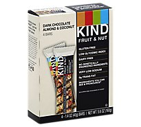 KIND Bar Fruit & Nut Dark Chocolate Almond & Coconut - 4-1.4 Oz