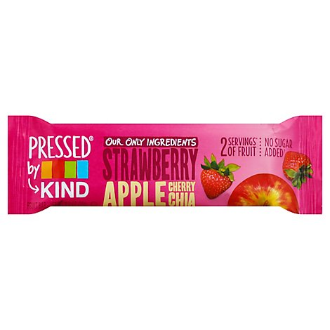 KIND Pressed Bar Fruit Strawberry Apple Chia - 1.2 Oz