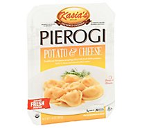 Kasias Potato N Cheese Pierogi - 14 Oz