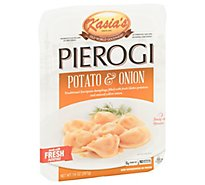 Kasias Pierogi Potato & Onion - 14 Oz