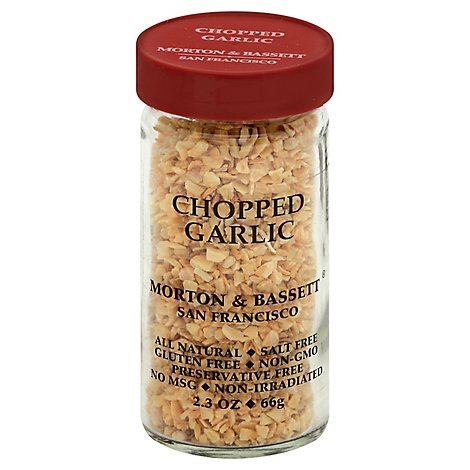 Morton & Bassett Garlic Chopped - 2.3 Oz