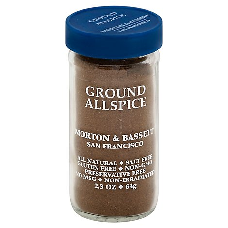 Morton & Bassett Allspice Ground - 2.3 Oz