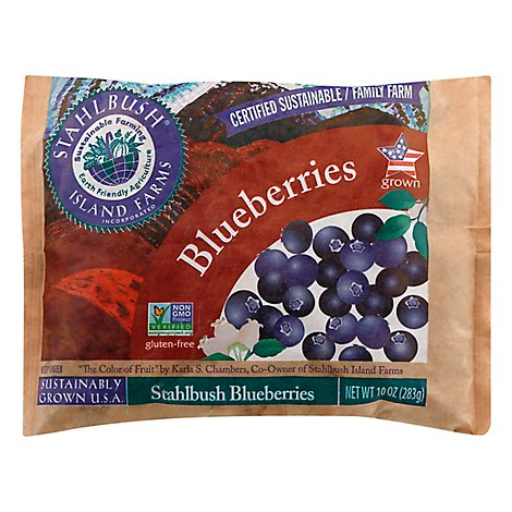 Stahlbush Island Farms Blueberries Whole - 10 Oz