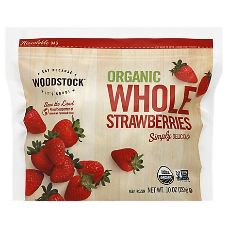 Woodstock Strawberries - 10 Oz