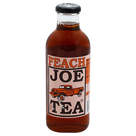 Joes Peach Tea - 20 Oz