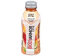 BODYARMOR Lyte SuperDrink Peach Mango - 16 Fl. Oz.