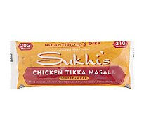 Sukhis Chicken Tiikka Masala Wrap - 5.5 Oz