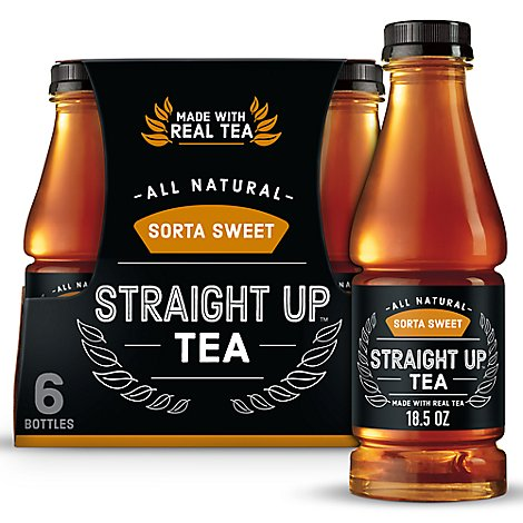 Snapple Straight Up Tea Sorta - 6-18.5 Fl. Oz.