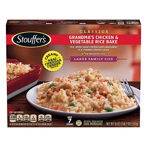Stouffers Chicken & Rice - 55 Oz