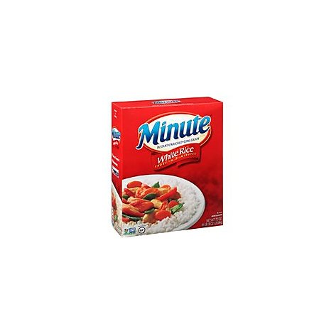 Minute Rice White Instant Enriched Long Grain - 72 Oz