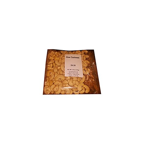 Raw Cashews - 5.75 Oz