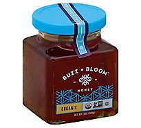 Buzz + Bloom Honey Organic - 12 Oz