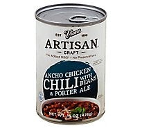 Vietti Artisan Craft Chili With Beans & Porter Ale Ancho Chicken - 15 Oz