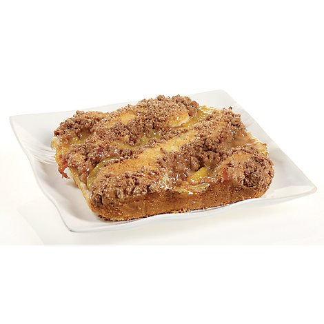 Bakery Cake Crumb Peach - Each