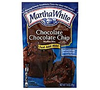Martha White Muffin Mix Chocolate Chocolate Chip - 7.4 Oz