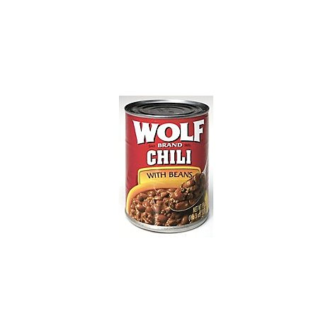 Wolf Brand Chili With Beans Original - 19 Oz