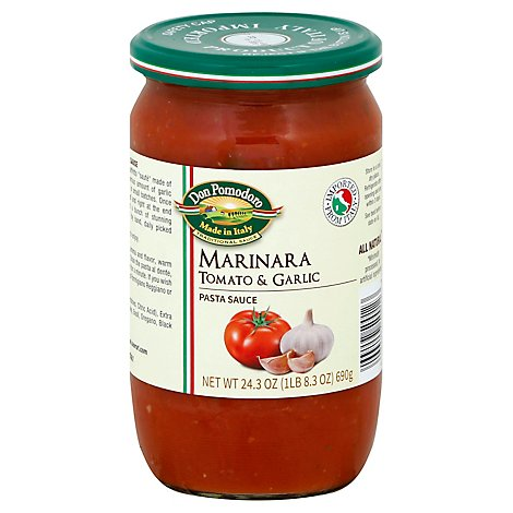 Don Pomodoro Sauce Traditional Marianara Jar - 24.3 Oz