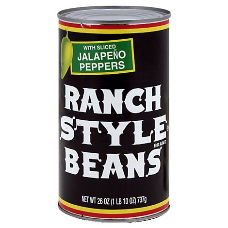 Ranch Style Beans With Sliced Jalapeno Peppers - 26 Oz