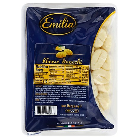 Emilia Cheese Potato Gnocchi - 1 Lb