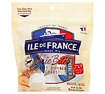 Ile De France Mini Brie Bites - 4.4 Oz