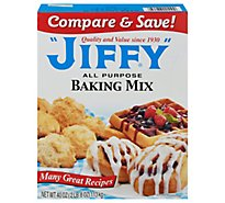 JIFFY Baking Mix All Purpose - 40 Oz