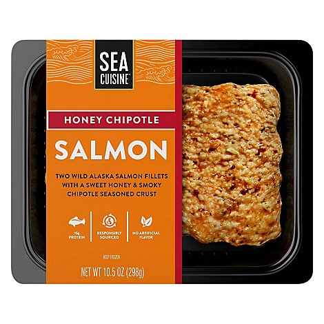 Sea Cuisine Chefs Collection Fish Fillet Frozen Honey Chipotle Salmon - 10.5 Oz
