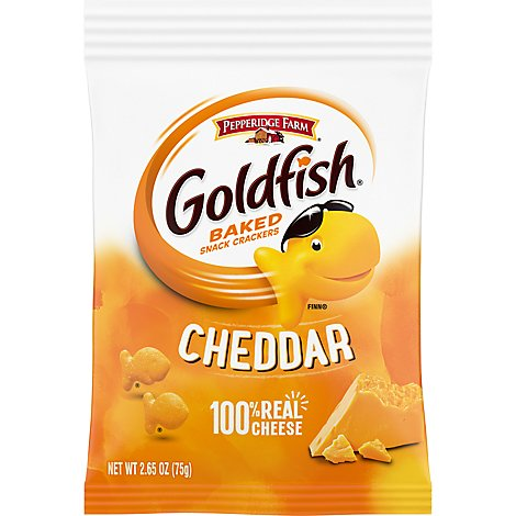 Goldfish Cheddar Grab Bag - 2.65 Oz