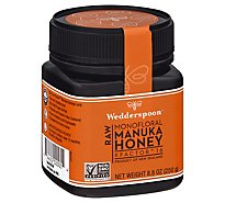 Wedderspoon Honey Raw Manuka KFactor 16 - 8.8 Oz