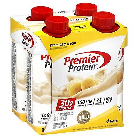Premier Protein Energy For Everyday Protein Shake Banana - 4-11 Fl. Oz.