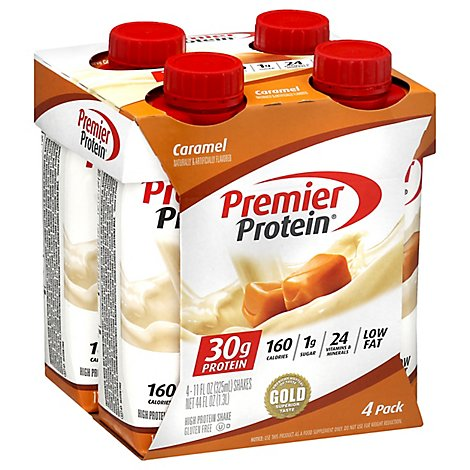 Premier Protein Energy For Everyday Protein Shake Caramel - 4-11 Fl. Oz.