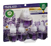 Air Wick Scented Oil Refill Lavender & Chamomile Extreme Value - 5-0.67 Fl. Oz.