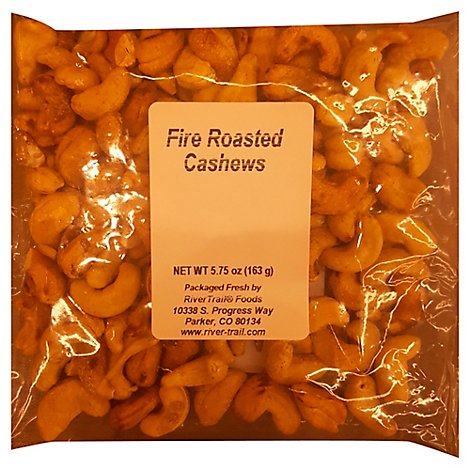 Fire Roast Cashews - 5.75 Oz