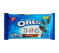 OREO Thins Sandwich Cookies Thin & Crispy Coconut Creme - 10.1 Oz