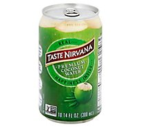 Taste Nirvana Coconut Water Real - 10.14 Fl. Oz.