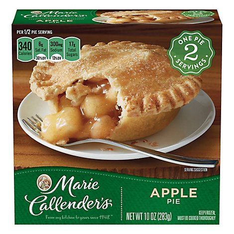Marie Callenders Pie Apple 2 Count - 10 Oz