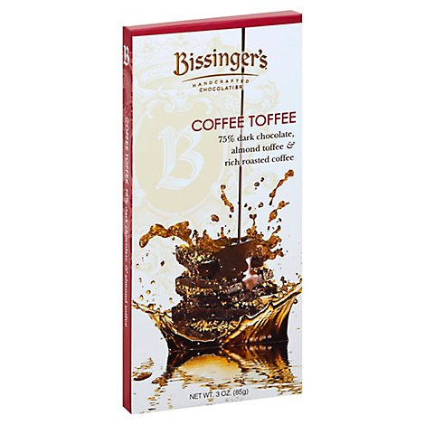 Bissingers Chocolate Coffee Toffee - 3 Oz