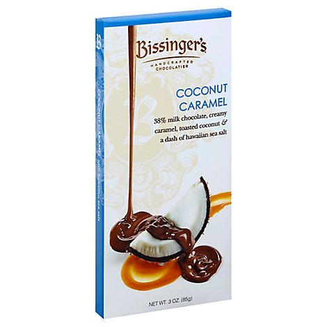 Bissingers Chocolate Coconut Caramel - 3 Oz