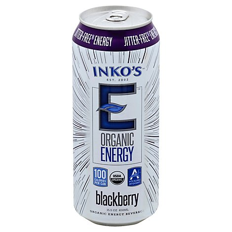 Inkos Blackberry Energy Drink - 15.5 Fl. Oz.