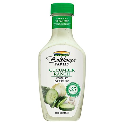 Bolthouse Farms Cucumber Ranch Yogurt Dressing - 14 Fl. Oz.