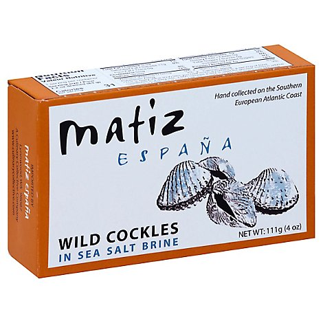 Matiz Gallego Berberechos Cockles In Brine - 4 Oz