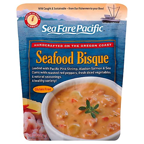 Sea Fare Pacific Bisque Seafood - 9 Oz