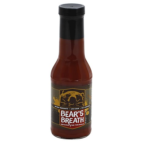 Bears Breath Ketchup Spicy All Purpose Ketchup - 12.4 Oz