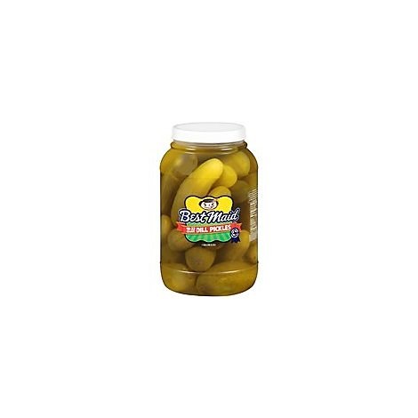 Best Maid Pickles Whole - 128 Oz