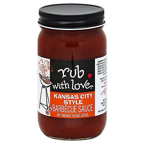 Rub With Love Kansas City Style Bbq Sauce - 18.5 Oz