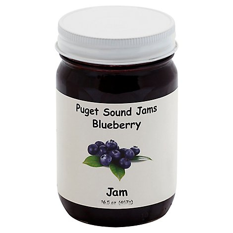 Puget Sound Blueberry Jam - 16.5 Oz
