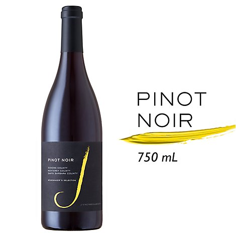 J Wine Pinot Noir - 750 Ml