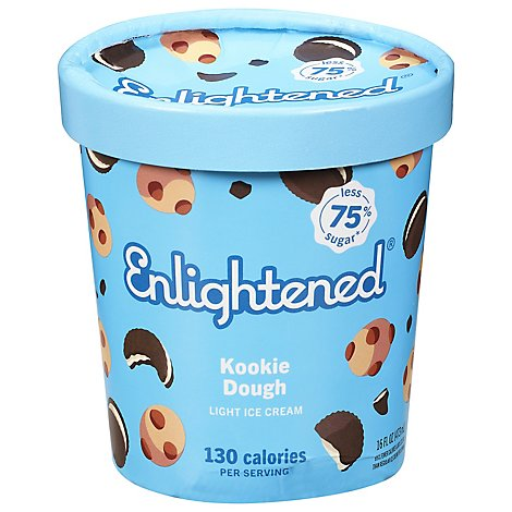 Enlightened Ice Cream Chocolate Chip Cookie Dough 1 Pint - 16 Fl. Oz.