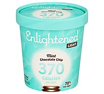Enlightened Ice Cream Mint Chocolate Chip 1 Pint - 16 Fl. Oz.