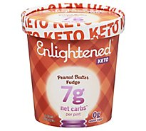 ENLIGHTENED Ice Cream Light Peanut Butter Chocolate Chip - 1 Pint