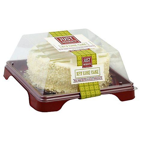 Just Desserts Cake 6 Inch Key Lime - Each